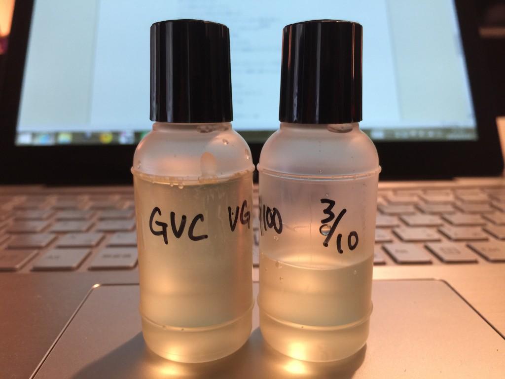 Grant's Vanilla Custard(GVC)②そろそろ起こしてもいい頃かや?VAPEリキッドレビュー
