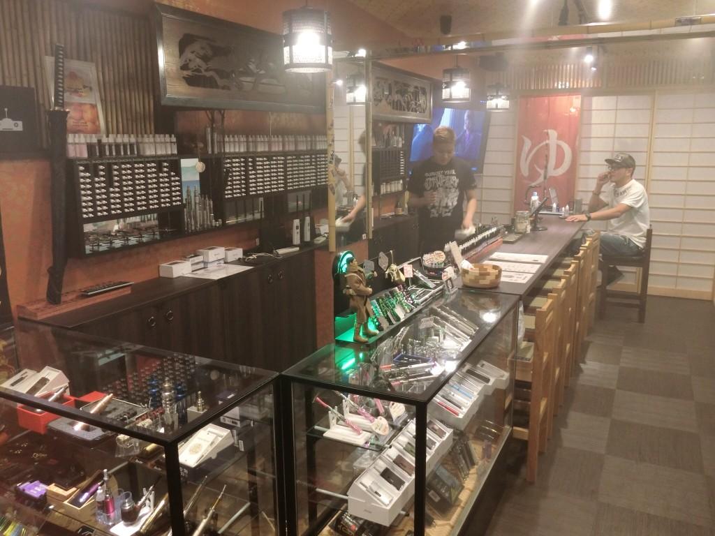 東京・上野「SAMURAI VAPORS」VAPEショップレビュー