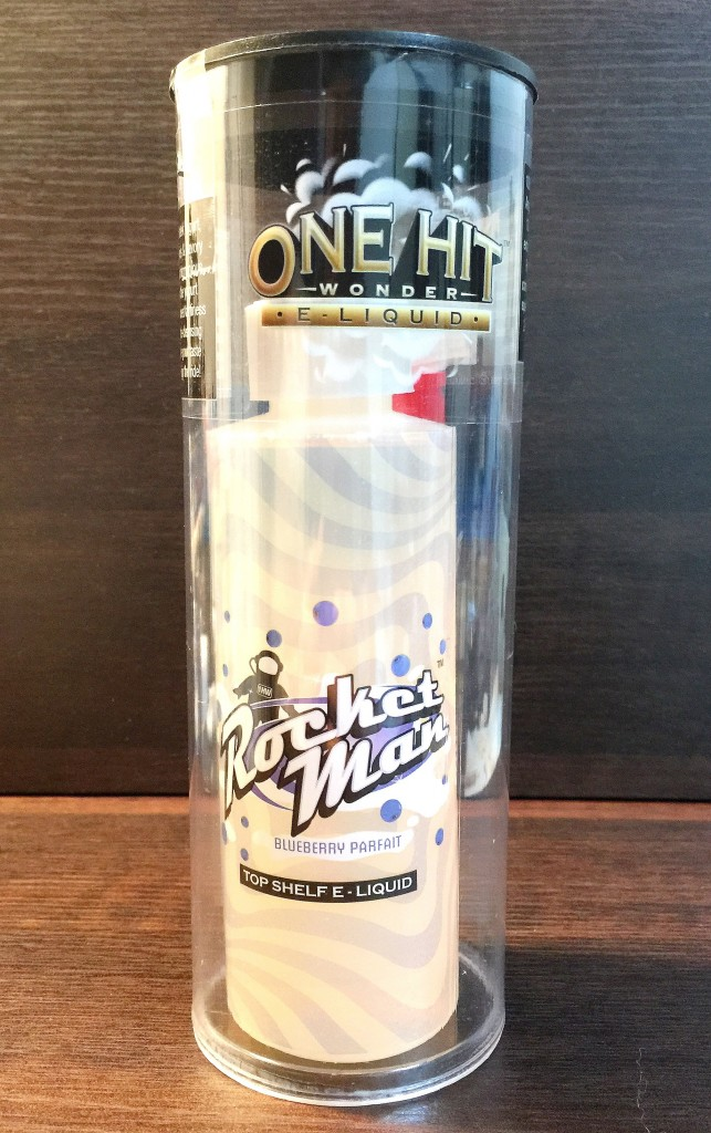 「Rocket Man by ONE HIT WONDER」VAPEリキッドレビュー