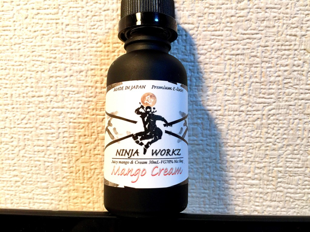 「Mango Cream by NINJA WORKZ」VAPEリキッドレビュー