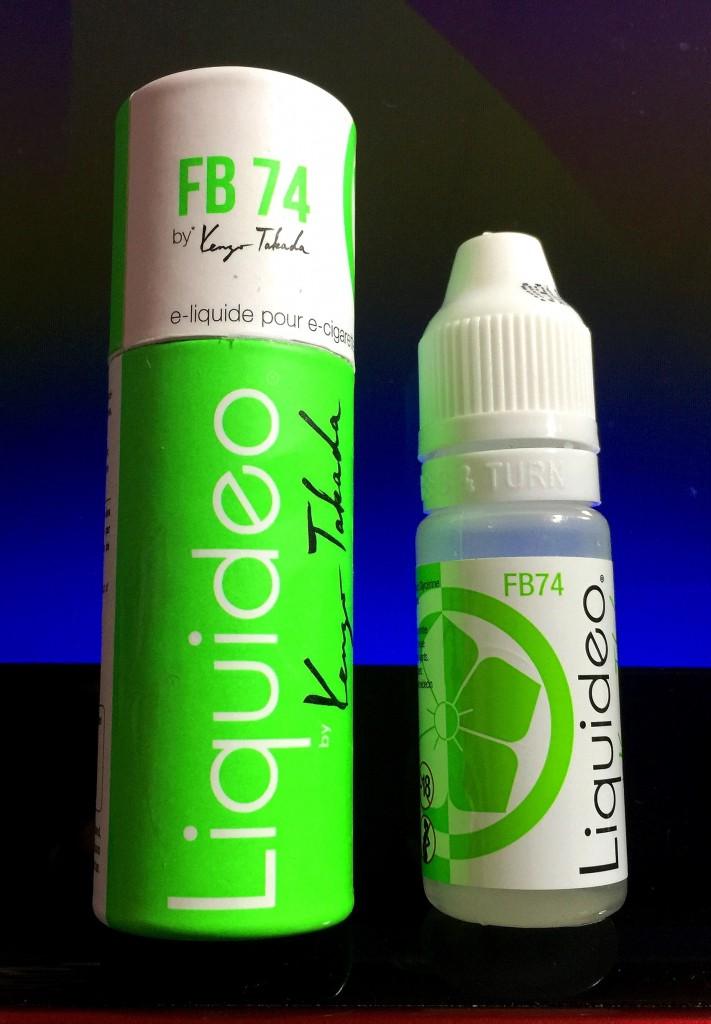 KENZO 「FB74 ナッツ&タバコリラックス」VAPEリキッドレビュー