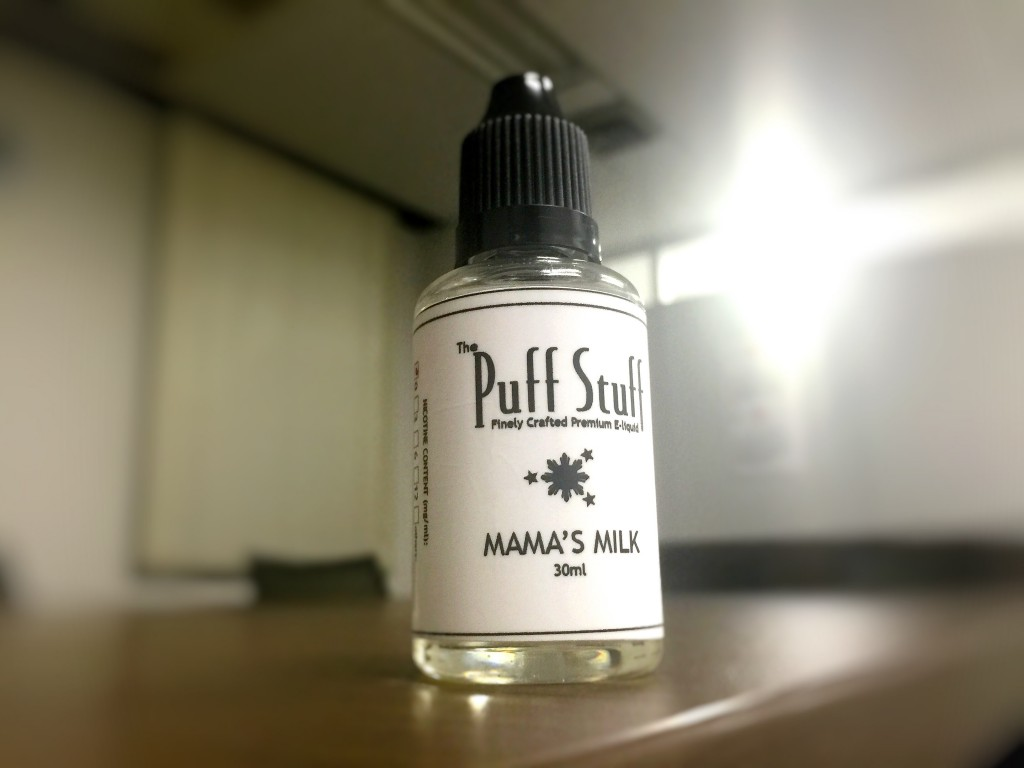 「MAMA'S MILK by Puff Stuff」VAPEリキッドレビュー