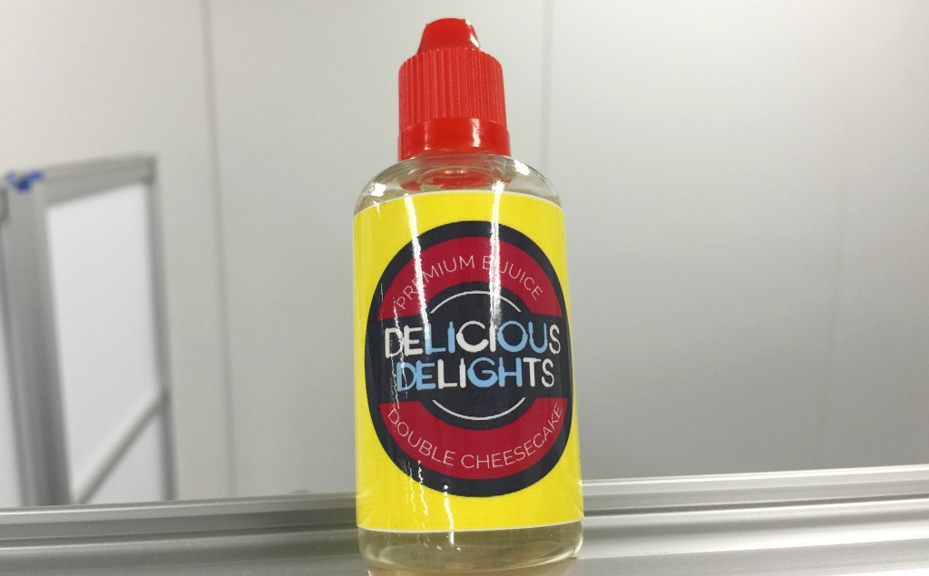 「Double Cheesecake by DeliciousDelights」VAPEリキッドレビュー