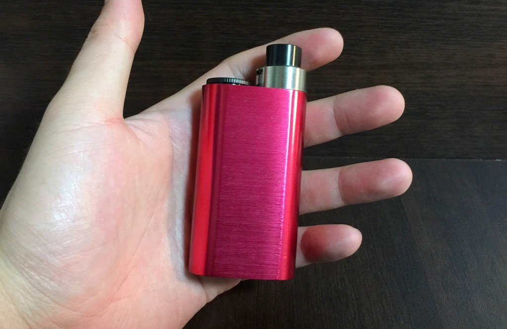 「Noisy Cricket Mod by WISMEC」メカニカルMODレビュー