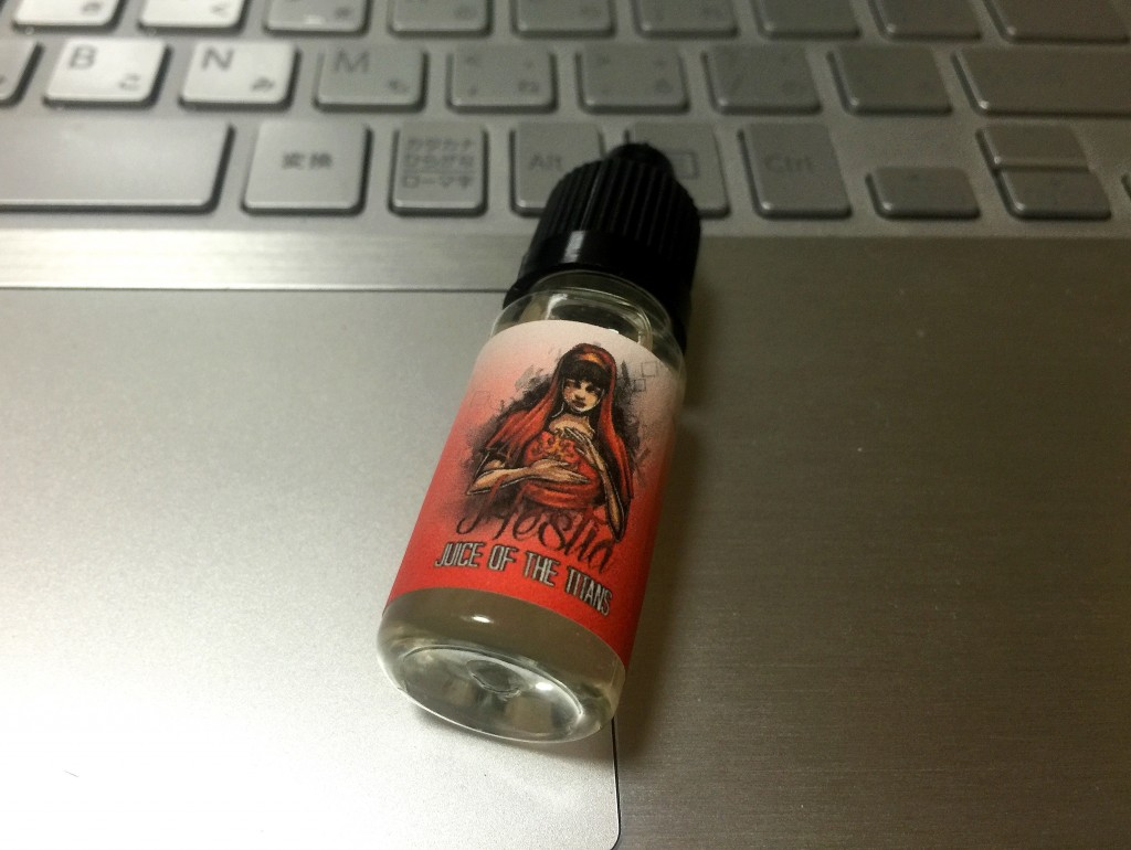 「HESTIA by Juice of the Titans」VAPEリキッドレビュー