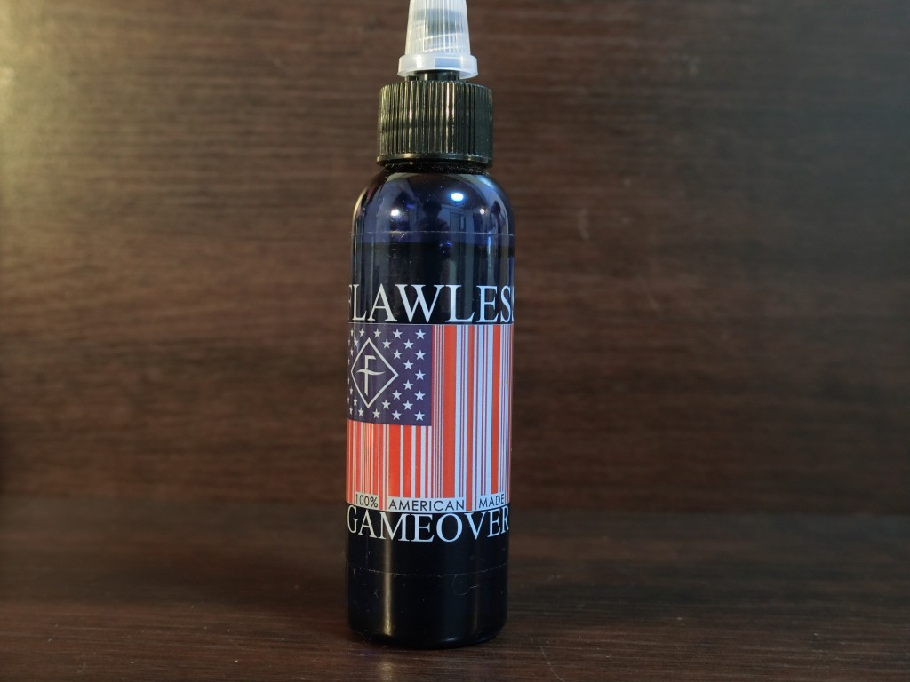 「GAME OVER by FLAWLESS」VAPEリキッドレビュー