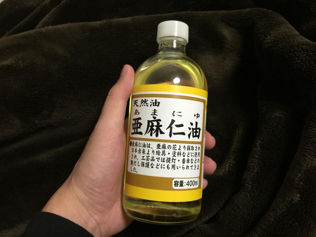 ナチュラルウッドMODを亜麻仁油で一年ほど育てた結果【オイルフィニッシュ】