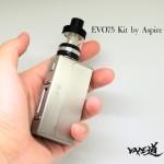 「EVO75 kit by Aspire」スターターキットレビュー