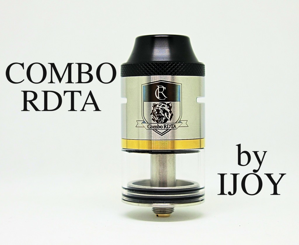 「COMBO RDTA by IJOY」アトマイザーレビュー