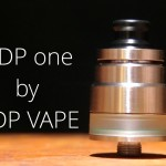 「DDP one RDTA by DDP vape」アトマイザーレビュー