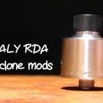 「HADALY RDA by Psyclone Mods」アトマイザーレビュー