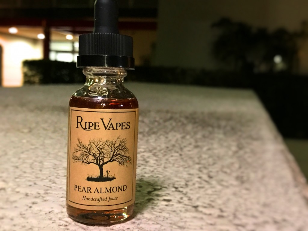 「PEAR ALMOND by RIPEVAPES」リキッドレビュー