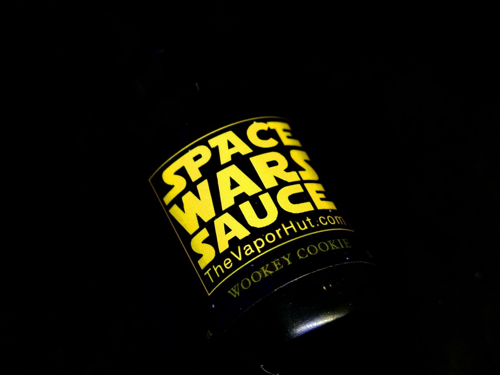 「WOOKEY COOKIE(SPACE WARS SAUCE) by The VaporHut」VAPEリキッドレビュー