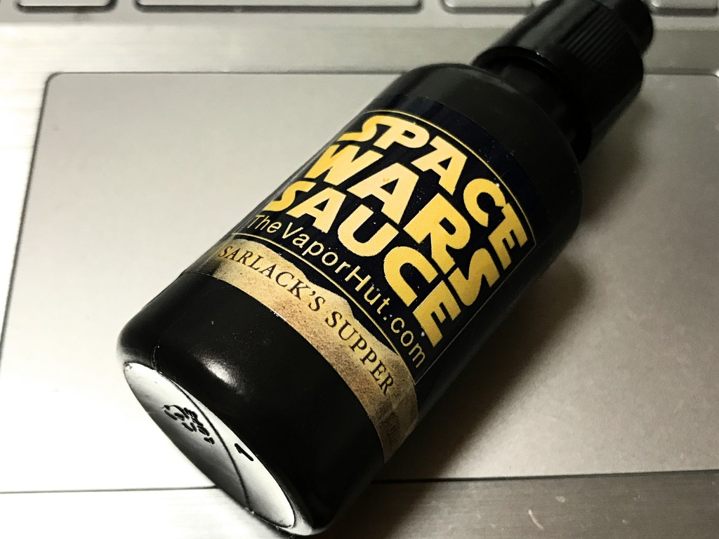 「SARLACK'S SUPPER(SPACE WARS SAUCE) by The VaporHut」VAPEリキッドレビュー