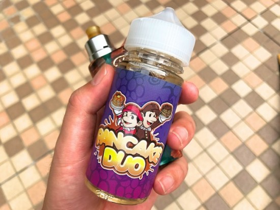 「Triple Berry Pancake by Pancake Duo」VAPEリキッドレビュー
