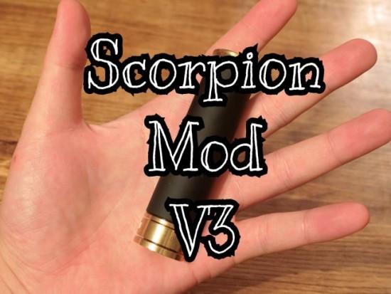 【メカチューブ】「Scorpion Mod V3(スコーピオンモッド) by Scorpion Mods」