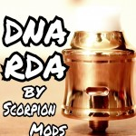 【RDA】「DNA RDA by Scorpion Mods」レビュー【アトマイザー】