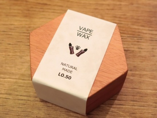 【ワックス】「VAPE WAX by STEEP BASE」レビュー