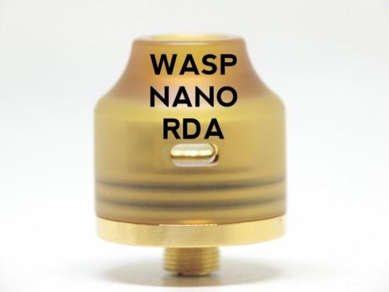 Wasp Nano RDA(ワスプナノ)by OUMIER【アトマイザー】レビュー
