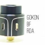 GoKon BF RDA(ゴーコン)by Vpdam【アトマイザー】レビュー