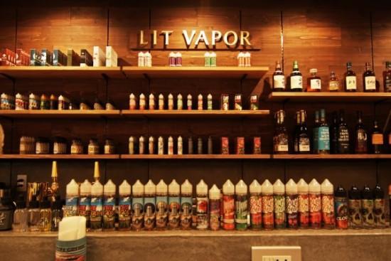 大阪・大阪市西区「LIT VAPOR(リットベイパー)」VAPEショップ&barレポート