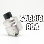 Gabriel RDA(ガブリエル)by Scorpion Mods(スコーピオンモッズ)【アトマイザー】レビュー