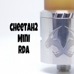 Cheetah 2 Mini(チーター2ミニ) RDA by OBS【アトマイザー】レビュー