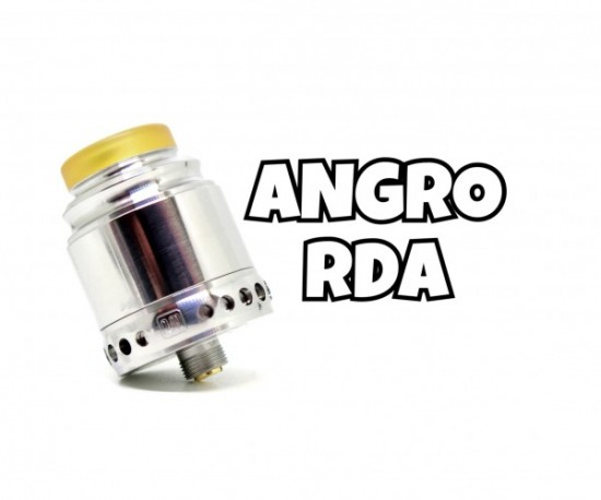 Anglo(アングロ) RDA by Hellvape(ヘルベイプ)【アトマイザー】レビュー