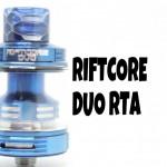 Riftcore Duo(リフトコアデュオ) RTA by Joyetech【アトマイザー】レビュー