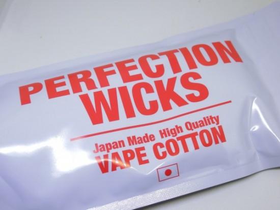 PERFECTION WICKS(パーフェクションウィックス)by SAITO WIRE vapors creation【コットン】レビュー
