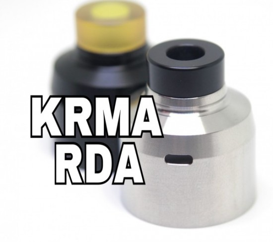 KRMA(カルマ) RDA by MISSION XV(ミッション15)【アトマイザー】レビュー