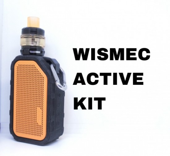Active Kit(アクティブキット) by Wismec【スターター】レビュー
