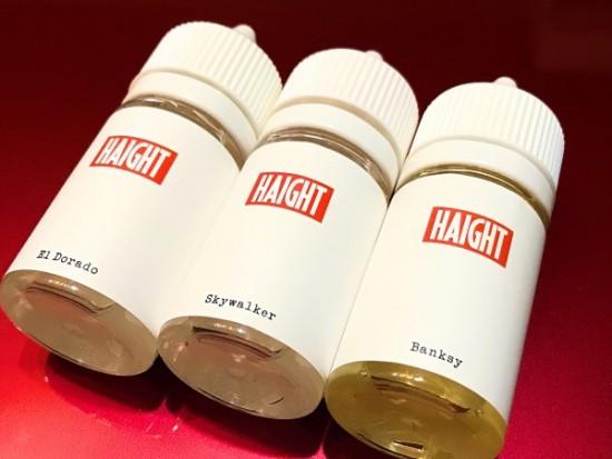 HAIGHT E-LIQUID3種【リキッド】レビュー